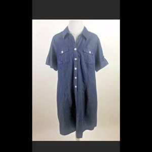 EUC denim dress 18w